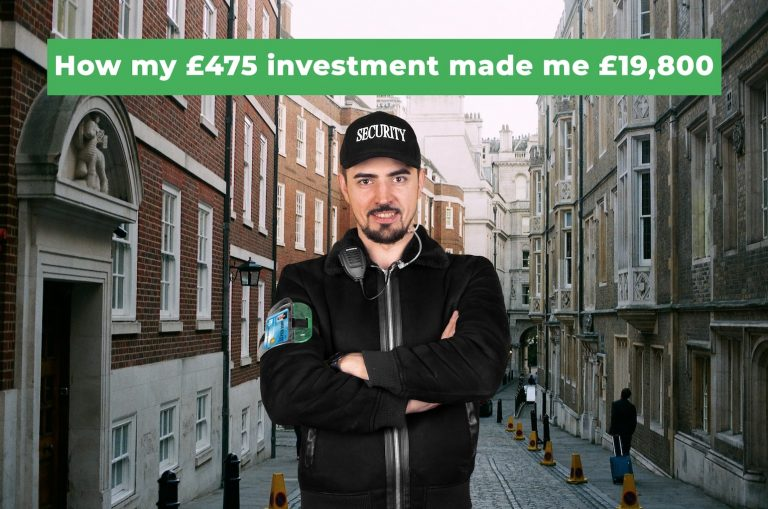 How my £475 investment made me £19,800