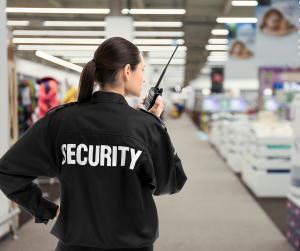 What is the role of a retail security officer?
