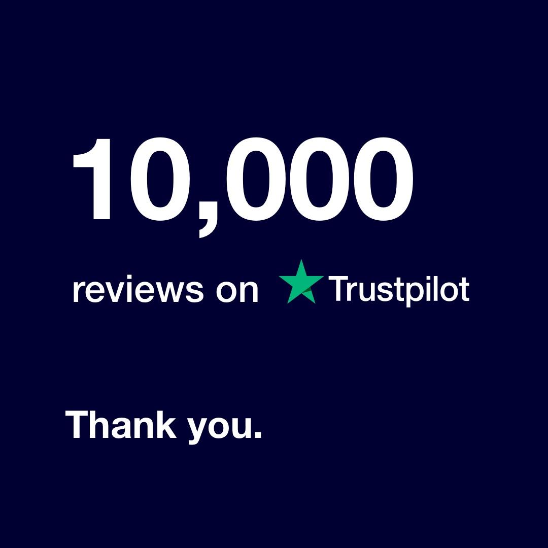 Get Licensed Reaches 10,000 Trustpilot Reviews