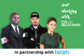 Get Licensed partners with Beam