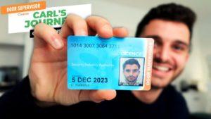 Getting a Door Supervisor Licence – Carl's Journey